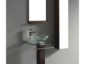 Rimini – 29′ Walnut Bathroom Vanity Madeli