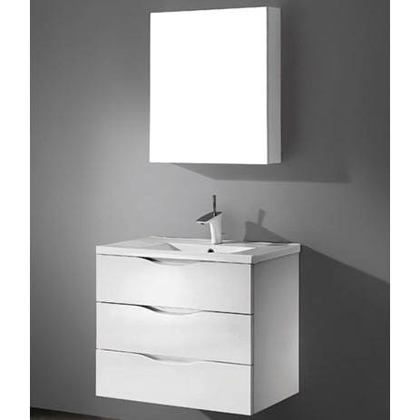 Bolano – 30′ White Bathroom Vanity Madeli