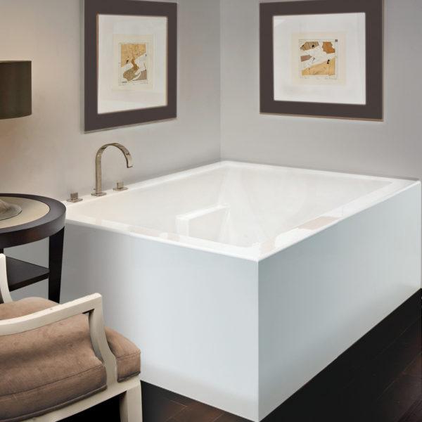 Mti Andrea® 9 Sculpted Finish®freestanding Bathtub