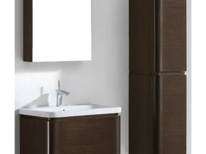 Euro – 30′ Walnut Bathroom Vanity Madeli