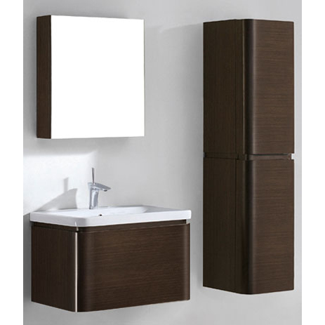 Euro – 30′ Walnut Bathroom Vanity Madeli
