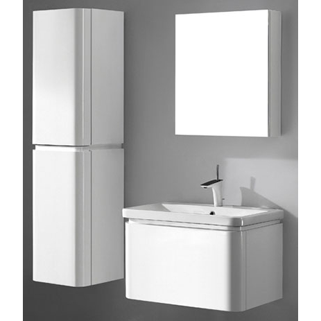 Euro – 30′ White Bathroom Vanity Madeli
