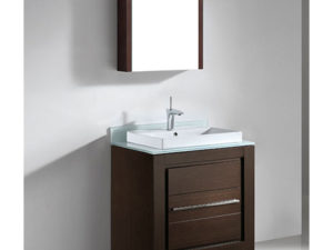 Vicenza – 30″ Walnut Bathroom Vanity Madeli