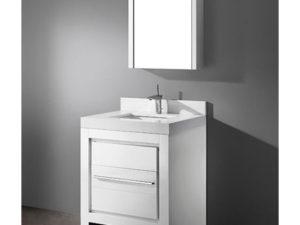 Vicenza – 30″ White Bathroom Vanity Madeli