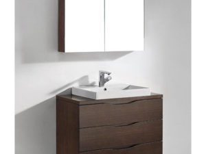 Bolano – 36′ Walnut Bathroom Vanity Madeli