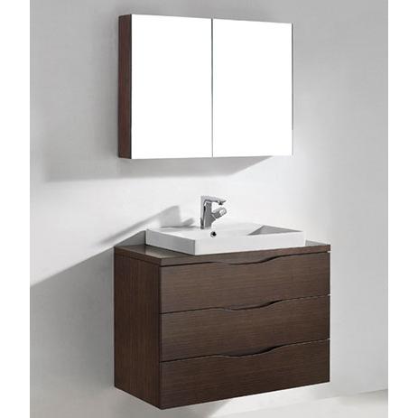 Bolano – 36′ Walnut Bathroom Vanity Madeli