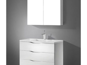 Bolano – 36′ White Bathroom Vanity Maneli