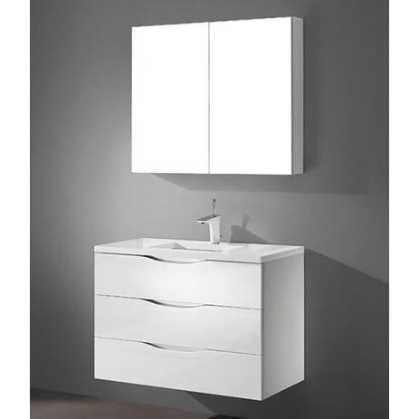 Bolano – 36′ White Bathroom Vanity Maneli