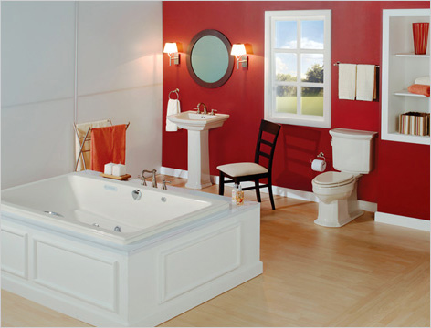 Barrett Whirlpool Bathtub By Mansfield