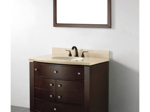 Siena – 36′  Walnut Bathroom Vanity Maneli