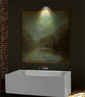 Mti Andrea® 22 Sculpted Finish® Bathtub