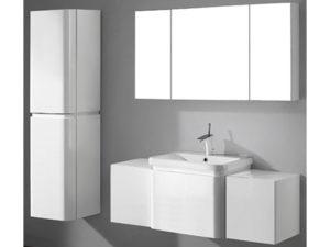 Euro – 48′ White Bathroom Vanity Madeli