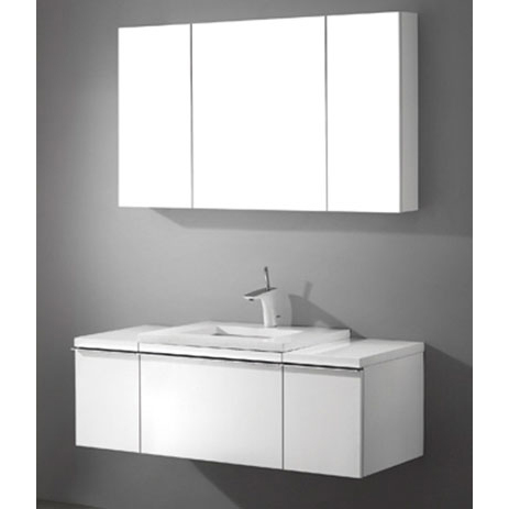 Venasca – 48′ White Bathroom Vanity Madeli