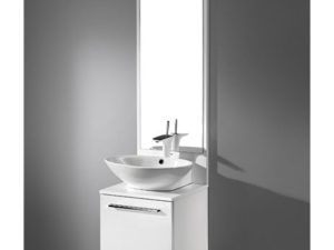 Alassio – 18′ White Bathroom Vanity Madeli