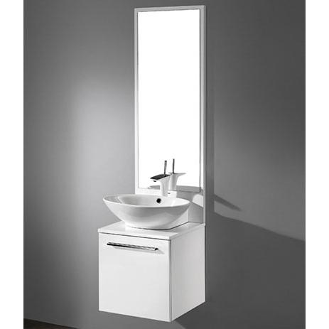 Alassio – 18′ White Bathroom Vanity Madeli