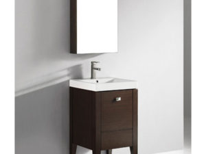 Andora – 20′ Walnut Bathroom Vanity Madeli