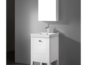 Andora – 20′ White Bathroom Vanity Madeli