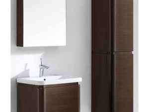 Euro – 24′ Walnut Bathroom Vanity Madeli