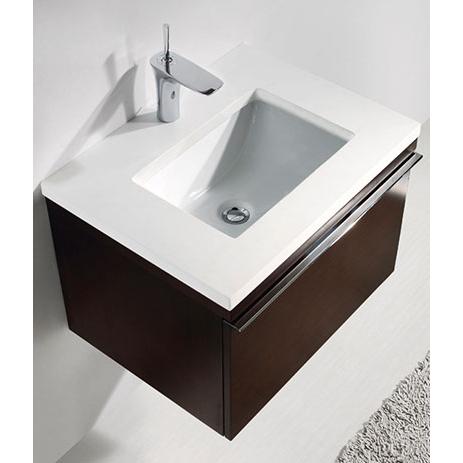 Venasca – 24′ Walnut Bathroom Vanity Madeli