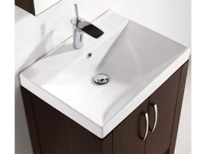 Caserta – 24′ Walnut Bathroom Vanity Madeli