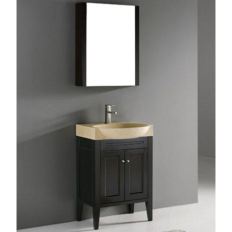 Sanremo – 24′ Espresso Bathroom Vanity Madeli