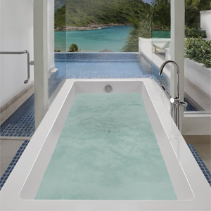 MTI Andrea® 1 Sculpted Finish® Freestanding Bathtub