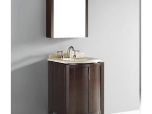 Udine – 24′ Walnut Bathroom Vanity Madeli