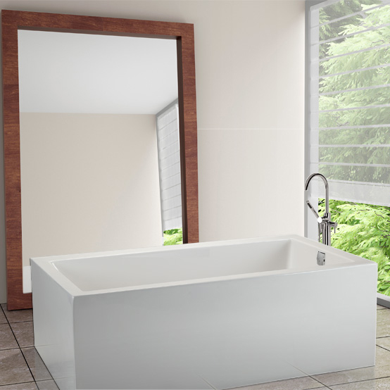 Mti Andrea® 6 Sculpted Finish® Freestanding Bathtub