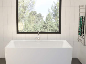 Accoustic Freestanding Bathtub
