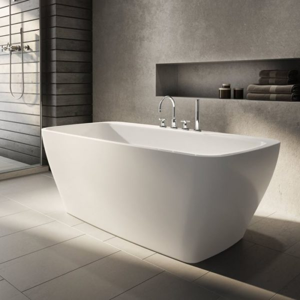 Tubs And More Waltz Petite Acrylic Bathtub