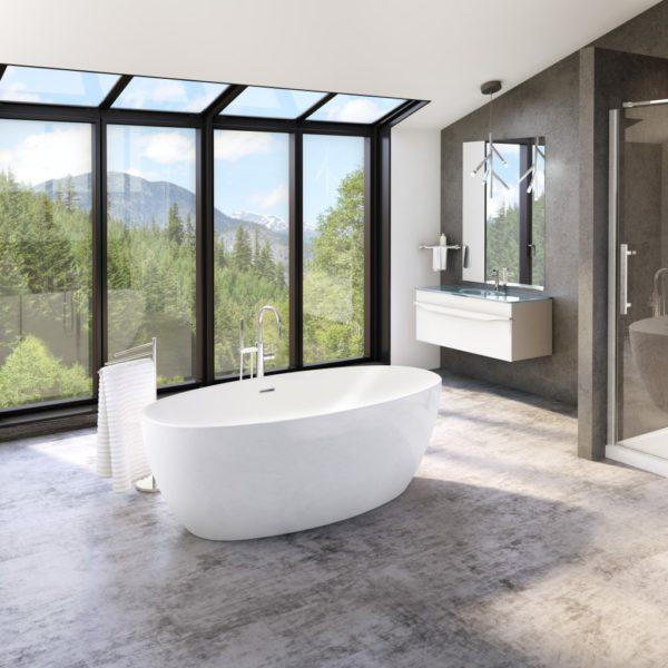 Fleurco Aria Freestanding Bathtub Voce