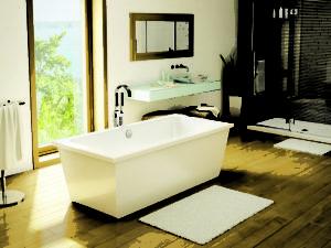 Fleurco Aria Freestanding Bathtub Legato