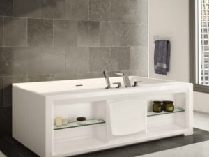 Ballade One Wall Style Bathtub