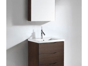 Bolano – 24′ Walnut Bathroom Vanity Madeli