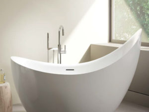 Crescent Petite Freestanding Bathtub