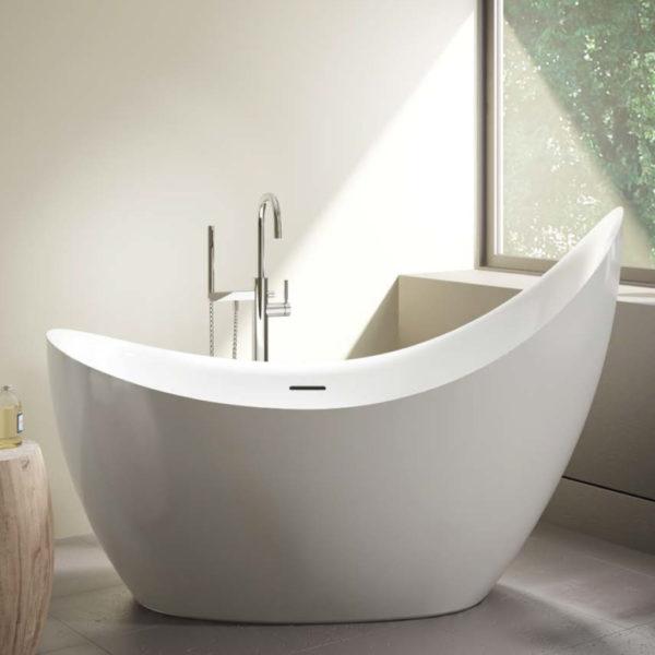 Crescent Petite Freestanding Bathtub