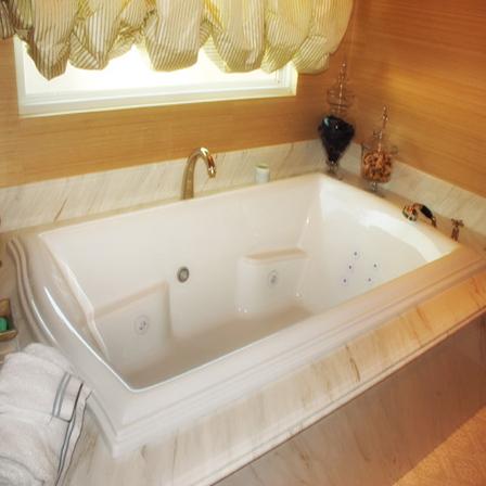 Hs Debra Rectangular Bathtub