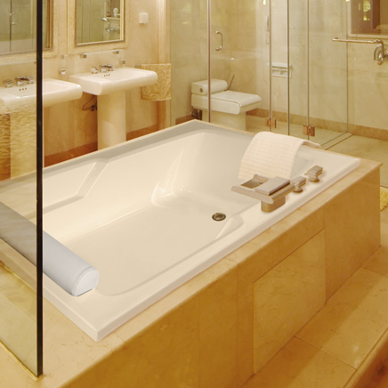 Hs Duo Rectangular Bathtub