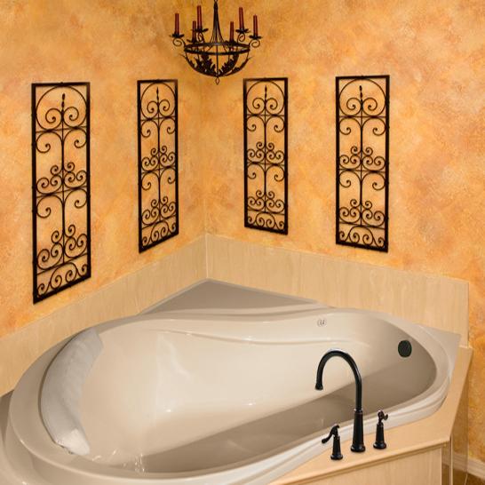 Hs Eclipse Corner Bathtub