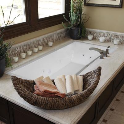 Hs Eileen Rectangular Bathtub