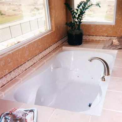 Hs Evansport Rectangular Bathtub