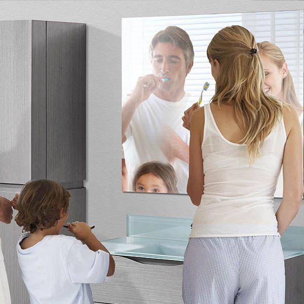 Frameless Wood Mirrors