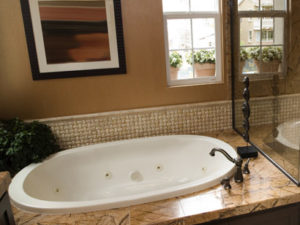 Hs Galaxie Oval Bathtub