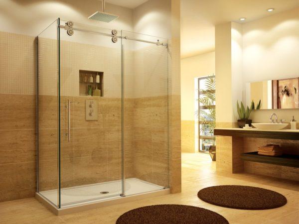 2 Sided Shower Enclosure
