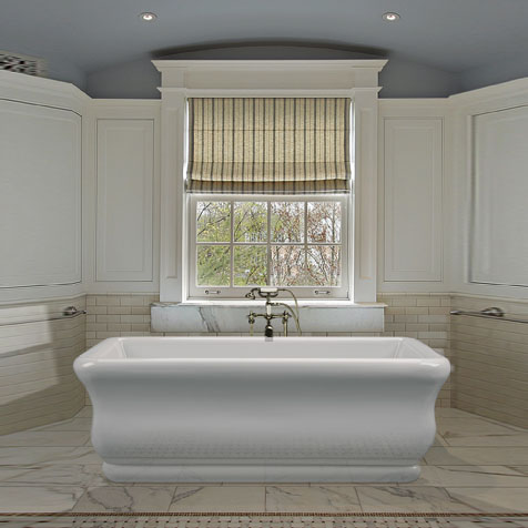 Mti Parisian® 1 Freestanding Bathtub