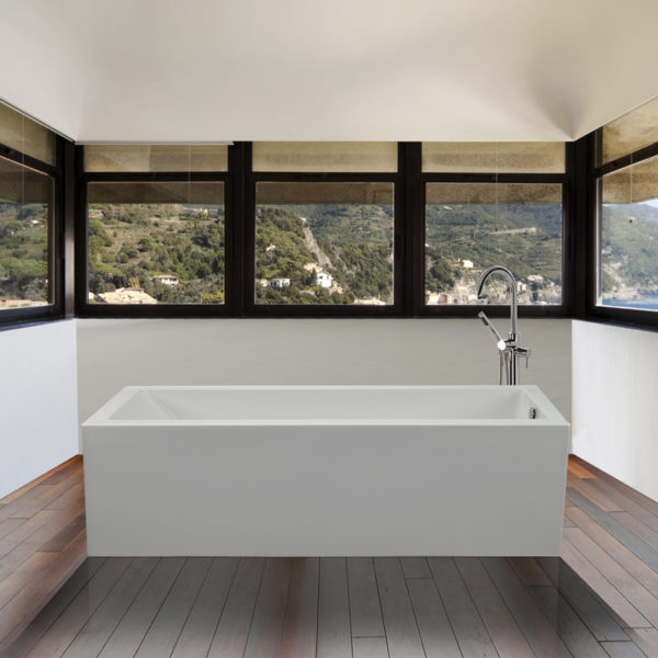 Mti Andrea® 4 Sculpted Finish® Freestanding Bathtub