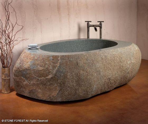 Stone Forest Natural Bathtub
