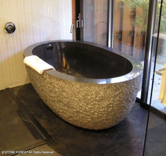 Stone Forest Oval Bathtub The Deals On Stone Forest