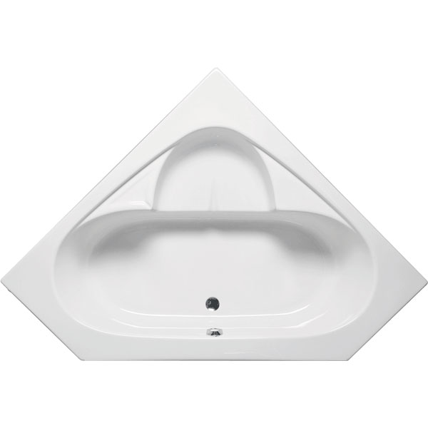Bermuda Corner Bathtub W/seat