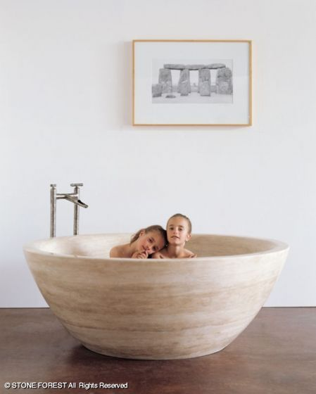 Stone Forest 60 Or 66 Round Bathtub